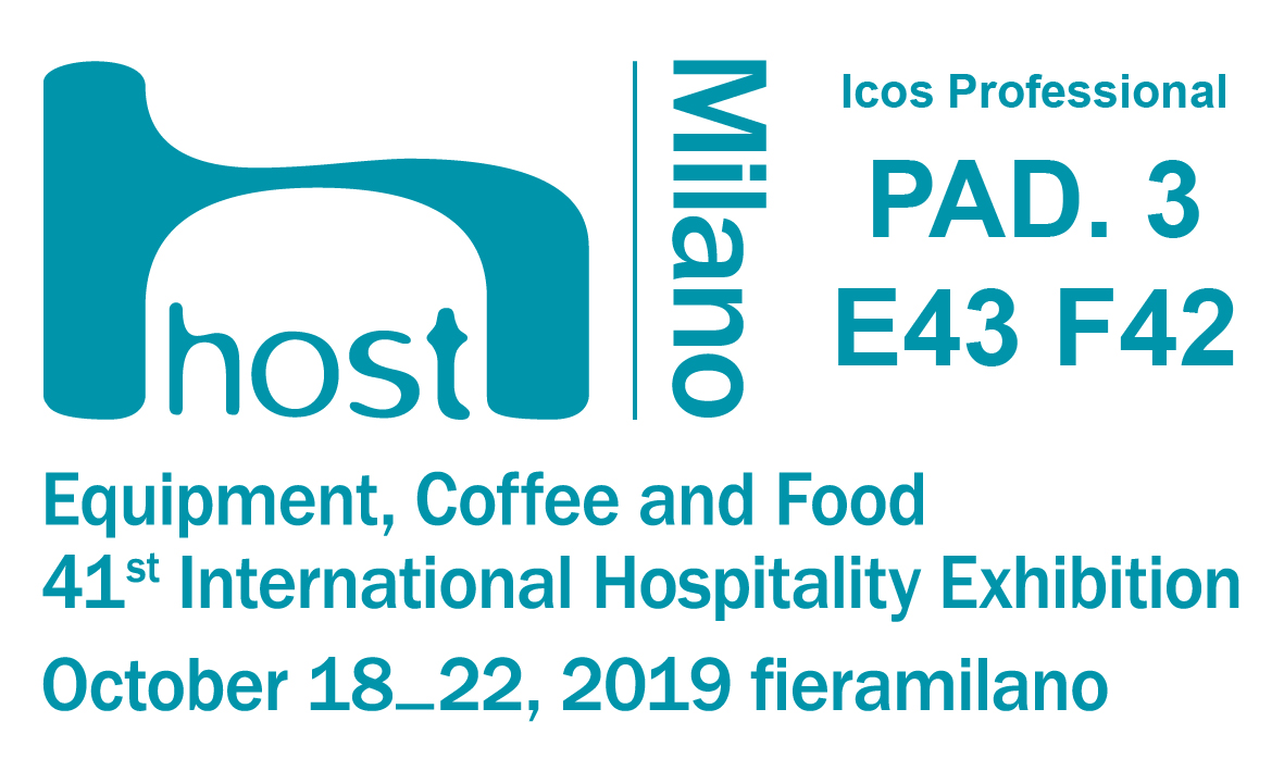 Icos Professional at Host fair in Milan 2019