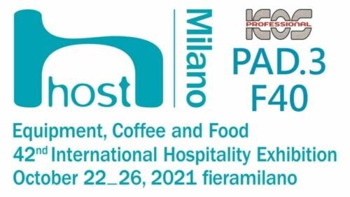Dal 22 al 26 ottobre saremo all'HOST Milano